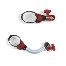 Fiamma Bike Block Pro 1 und 2 - rot - Fahrradhalter - Set