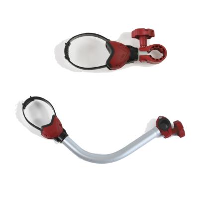 Fiamma Bike Block Pro 1 und 3 - rot - Fahrradhalter - Set