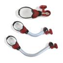 Fiamma Bike Block Pro 1, 2 und 3 - rot - Fahrradhalter - Set
