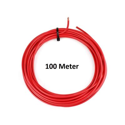 KFZ Universalkabel - FLRY Typ B - 4mm² - Plusleitung - Rot 100 Meter