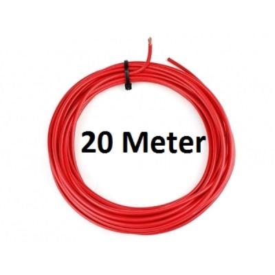 KFZ Universalkabel - FLRY Typ B - 4mm² - Plusleitung - Rot 20 Meter