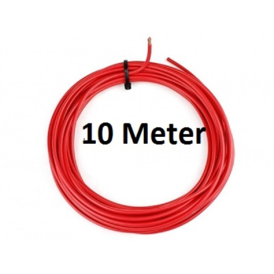 KFZ Universalkabel - FLRY Typ B - 4mm² - Rot 10 Meter