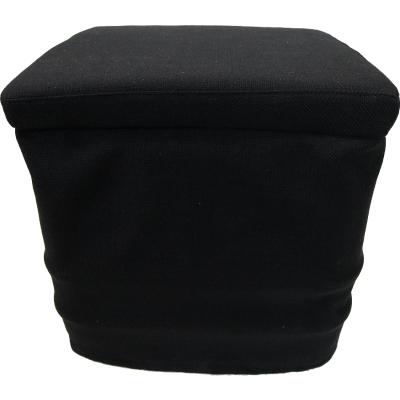Stoffhocker schwarz für Thetford Porta Potti 345 mit Polster und Toilette