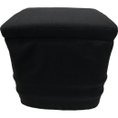 Stoffhocker schwarz für Thetford Porta Potti 345 mit...
