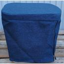 Stoffhocker blau für Thetford Porta Potti 165/365...
