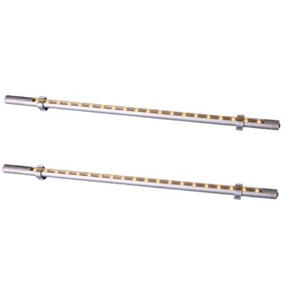 Sigma LED Stableuchte 55cm - 30 LEDs - mit Schalter - Weiß 2er Set
