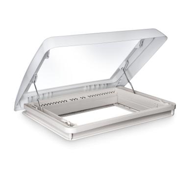 Dometic Midi Heki Style 700x500 - weiß - mit Kurbel - mit Zwangsbelüftung - Dachfenster