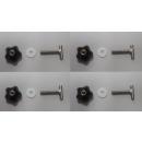 Mercedes Vito / Viano Befestigungsschrauben - Rastschiene Multiflexboard Halterung
