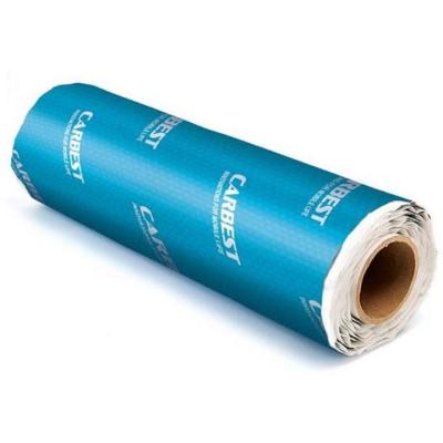 Alubutyl 500x40 - Schalldämm Isolation Alubuty l- selbstklebend - 2mm  stark - 500x40cm