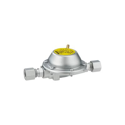Gasregler DE 50/30 - 0,8kg/h - 30mbar - bds. RVS8