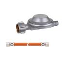 GOK Gasdruckregler und Schlauch für Cago Turbo...