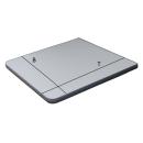 Tischplatte Anthrazit-Metallic - Wandklapptisch Tischplatte Platte Holzplatte B45 x T45 cm