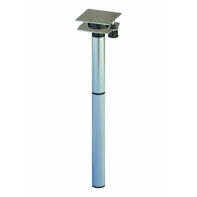 Ausdrehfuß - Höhe 70cm - Tischbein - Leichtbau aus Aluminium