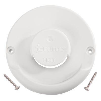 Kaminaußenteil Truma - ZR 80 Farbe bianco