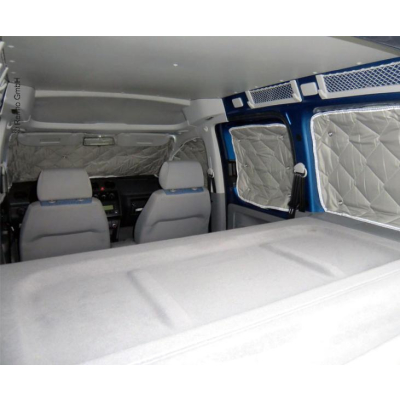 Isoflex Thermomatte VW Caddy Maxi ab 2004 - 8-teilig - für langen Radstand