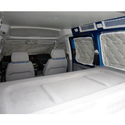 Isoflex Thermomatte VW Caddy Bj. 04-20 - 8-teilig -  für kurzen Radstand