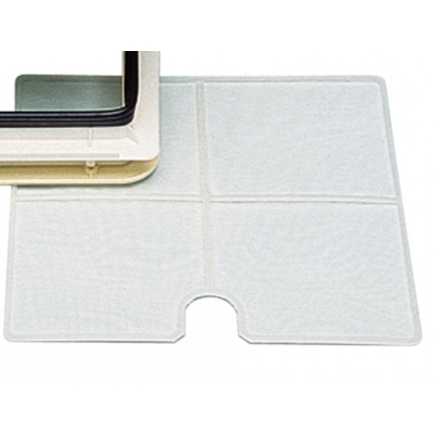 Moskitonetz für Kurbeldachlüfter Dachlucke - 425 x 425 mm