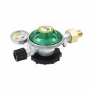 IGT Gasdruckregler - 50mbar - 1,0kg/h - mit Manometer und...
