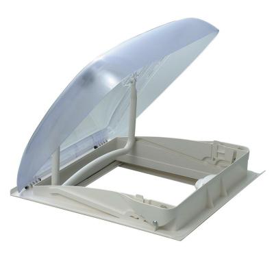 Dometic Mini Heki Style Dachhaube - 40x40cm - Dachstärke 43-60 mm - mit Zwangsbelüftung