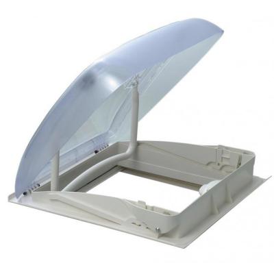 Dometic Mini Heki Style Dachhaube - 40x40 - Dachstärke 43-60mm - ohne Zwangsbelüftung