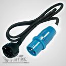CEE-Adapterkabel - Schukokupplung -> CEE-Stecker - 150...