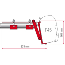 Fiamma Universaladapter F45/F70 Kit Roof Rail - Halterungen