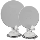 Maxview Twister 85 cm Twin - Sat-Antenne