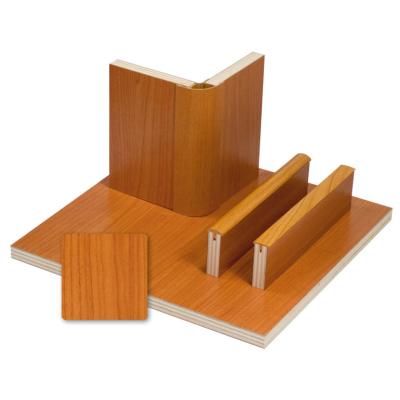 Möbelbauplatte - Pappelsperrholz mit Schichtstoff - Kirsch
