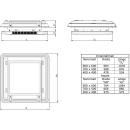 REMItop Vario II - mit Kurbel - 400 x 400 mm