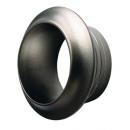 Push Lock Rosette - silber - 13mm