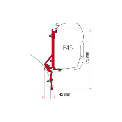 Fiamma Adapter Kit für F45 - Fiat Ducato, Renault Master