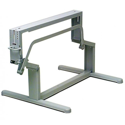 Hubtischgestell - Länge 600 mm - Farbe hellgrau