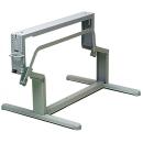 Hubtischgestell - Länge 750 mm - Farbe hellgrau