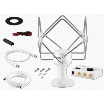 Maxview Antenne Omnimax Pro 12/24/230 V - DVB-T2 Rundumempfangsantenne