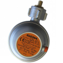 GOK Gasregler - 50mbar - 0,8kg/h  - 90° abgewinkelt -...