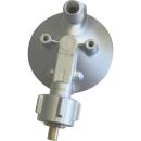 GOK Gasregler - 50mbar - 0,8kg/h  - 90° abgewinkelt - ohne Manometer 0111341