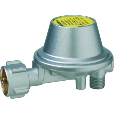 GOK Gasdruckregler - 30mbar - 0,8kg/h - 90° abgewinkelt - ohne Manometer - 0128009