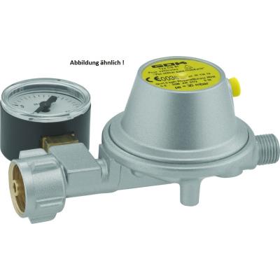GOK Niederdruckregler - 30 mbar - 1,2 kg/h - mit Manometer - 0128510